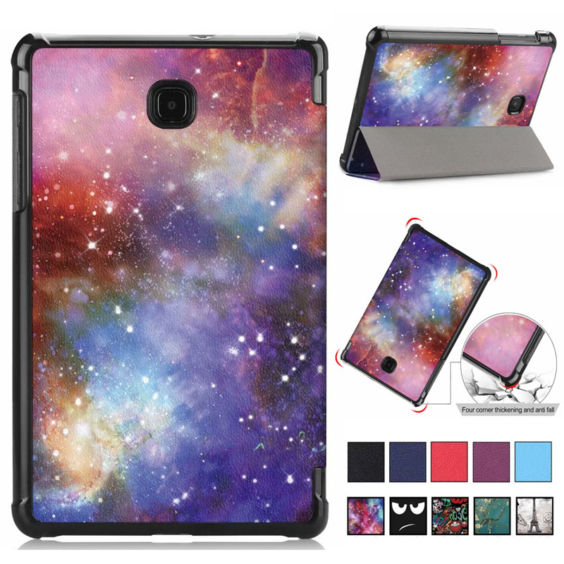 Arrival Ultra Slim Magnetic Foldable Leather Case For Samsung Galaxy Tab A 8.0 Inch 2018 T387 SM-T387 Cover Coque Funda Shell