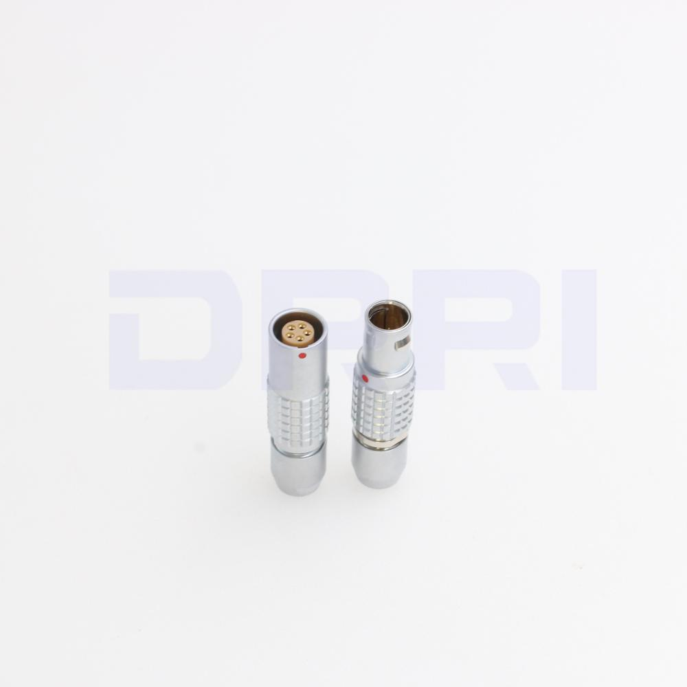 0B PHG FGG 2 3 4 5 6 7 9 pin push pull metal connector without bend reliefConnectors   -
