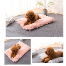 Pet Dog Bed Long Plush Soft Comfortable Fleece Cushion House Puppy Cat Sleeping For Dogs Cats Chihuahua