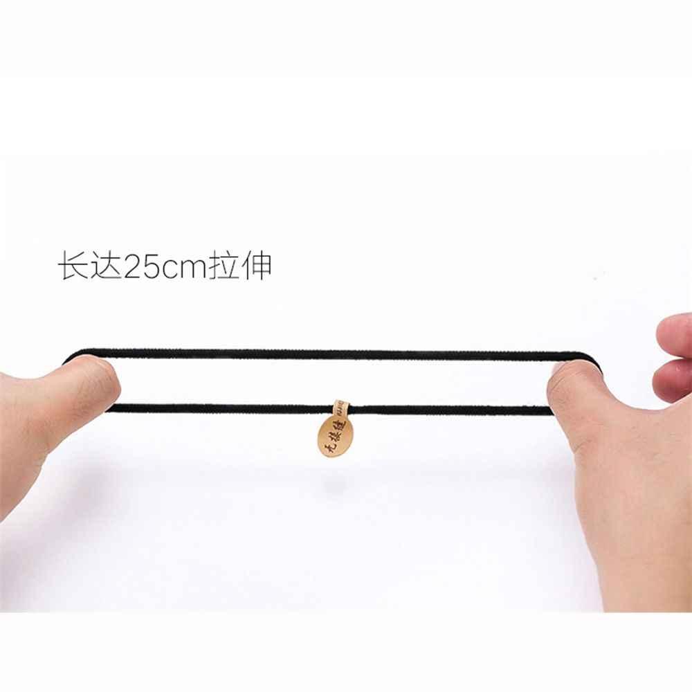 10 teile/los Neue Koreanische Haar Zubehör Für Frauen Schwarz Gute Elastische Haar Gummi Bands Seil Haar Styling Werkzeuge