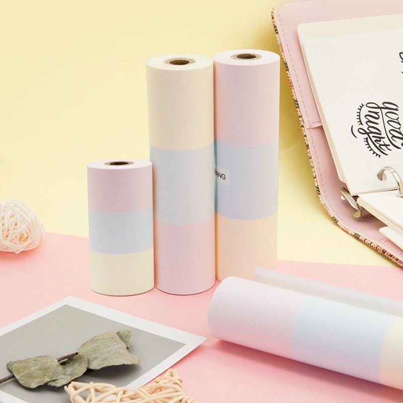 PAPERANG Applies Rainbow Paper Thermal Paper Stickers