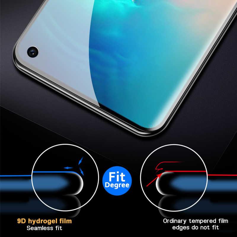 9D Hydrogelฟิล์มสำหรับSamsung Galaxy S20 Ultra S10 Lite 5G S9 S8 Plus S10eหมายเหตุ10 Lite Proหมายเหตุ9 8 Z Flip S20หน้าจอ