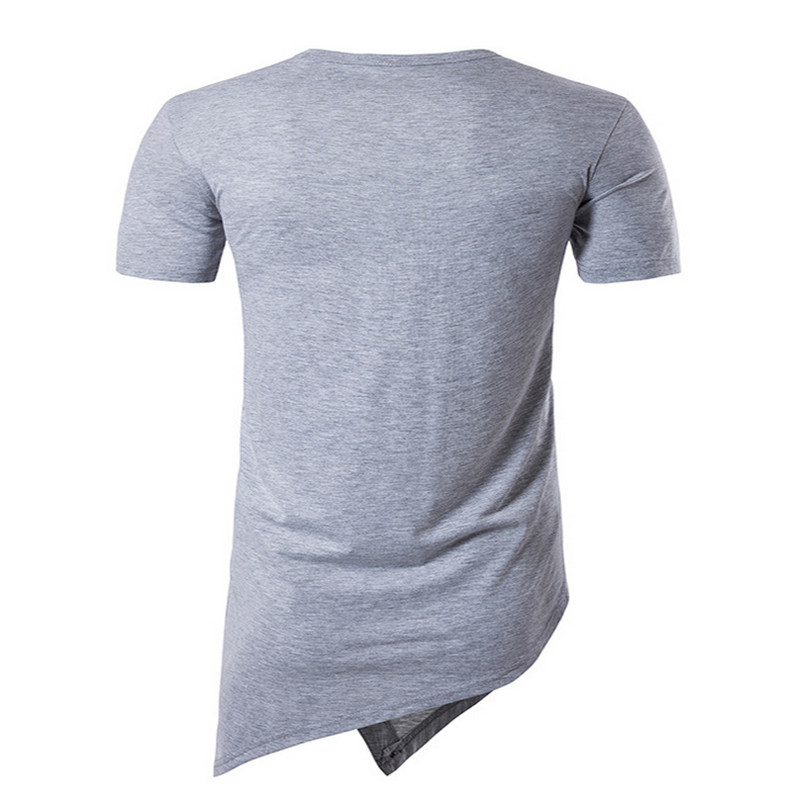 Short-sleeved T-shirt male 2019 new trend student handsome bottoming shirt men's T-shirt clothes
