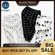 3pieces/lot Baby Pants Soft Cotton Baby Boys Girls PP Pants 0-24M For Spring&Summer Baby Harem Pants Newborn Girl Boy Clothing