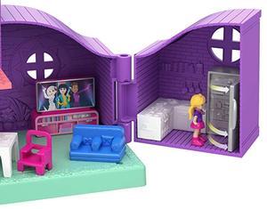 Image 2 - מקורי פולי Pocket מיני פולי קטן תיבת חנות בנות רכב צעצועי עולם מיני סצנת צעצוע מתנת ילדה בובת בית אבזרים juguetes