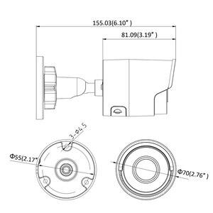 Image 4 - Hikvision original 8mp câmera ip DS 2CD2085FWD I bala rede cctv câmera updateable poe wdr poe slot para cartão sd oem