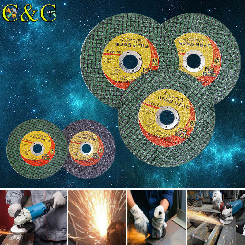 4 Inch Resin Metal-Cutting Saw Blade Wheel 16mm Bore Grinding Disc For Cutting Iron,metal,steel Suitable For Angle Grinder