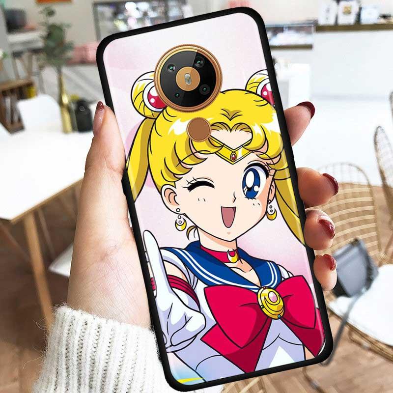 Sailor Moon Anime Silicone Phone Case For Nokia 2.2 2.3 3.2 4.2 7.2 1.3 5.3 8.3 2.4 3.4 C3 C2 1.4 5.4