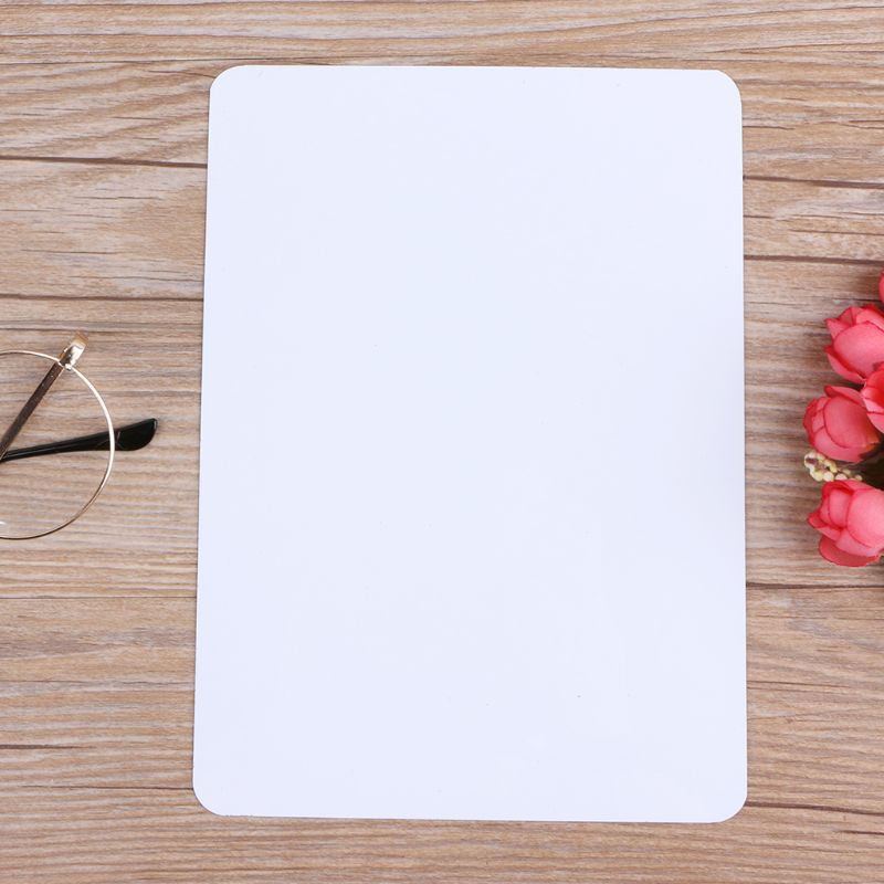 A5 Magnetic Whiteboard Fridge Drawing Recording Message Board Refrigerator Memo Pad 210x150mm