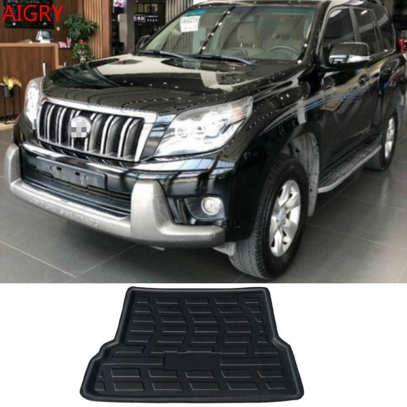 Fit For Toyota Land Cruiser Prado J150 150 7-Seats 2010 2011- 2018 2019 Rear Trunk Mat Cargo Tray Boot Liner Carpet Floor Mat