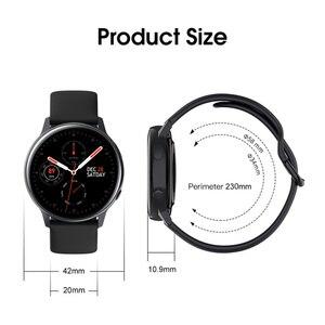 "Image 5 - עמיד למים IP68 Smartwatch + רצועה/סט חכם שעון אק""ג דם חמצן לחץ אלחוטי טעינה עבור iPhone סמסונג Huawei שעון"