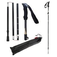 5 Section Trekking Poles Hiking Trekking Poles Aluminum Ski Poles Telescopic Adjustment Outdoor Trekking Poles Wear Resistant|Walking Sticks|   -