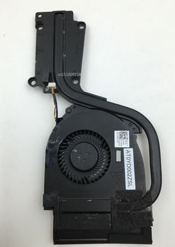 Free Shipping FOR Dell Latitude E6540 0V0NGD AT0YD002ZSL Cooling Fan & Heatsink Assembly Radiator Cooler WORKING Used