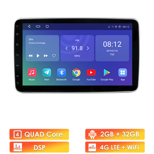 Image 2 - Universal 2 Din Car Multimedia Player 10inch Touch Screen Autoradio Stereo Video GPS WiFi Auto Radio Android Video Player