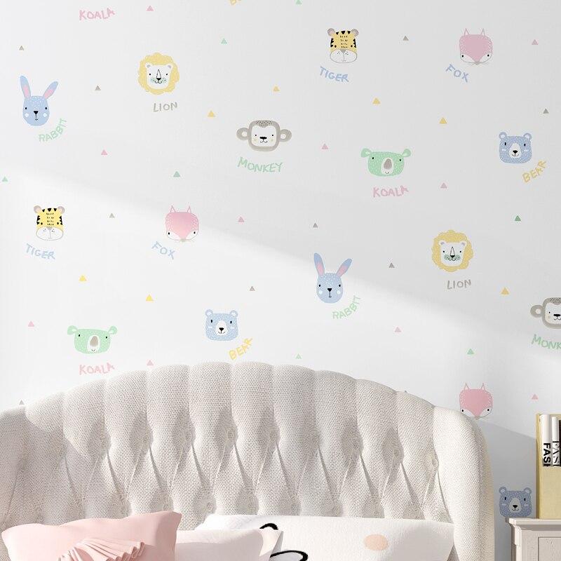 Children S Wallpaper Bedroom Girl Boy Room Nordic Style Princess