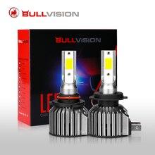 Bullvison H4 Led Headlight H7 H11 12000LM Super Bright Car Bulbs 9005 9006 H8 H9 Diode