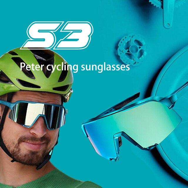 Peter limited esportes ao ar livre óculos de sol da bicicleta speedcraft ciclismo óculos de sol esporte óculos de velocidade 1