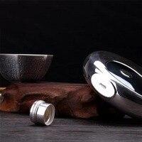 Handmade Tai Chi sterling silver jug 