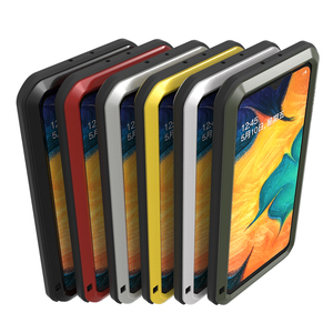Image 5 - Металлическая броня для Samsung Galaxy A41 A20 A30 A30S A40S брызгозащищенный пыленепроницаемый ударопрочный Прочный чехол с полным покрытием для занятий спортом на открытом воздухе чехол для телефона