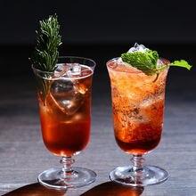 Cocktail glass handmade goblet wine glasses crystal magret cup