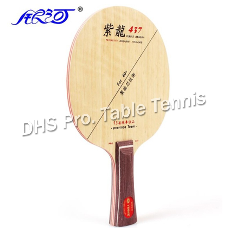 Yinhe Purple Dragon 537 PD / 437 OFF Table Tennis Blade For Racket For 40+ New Material Ball