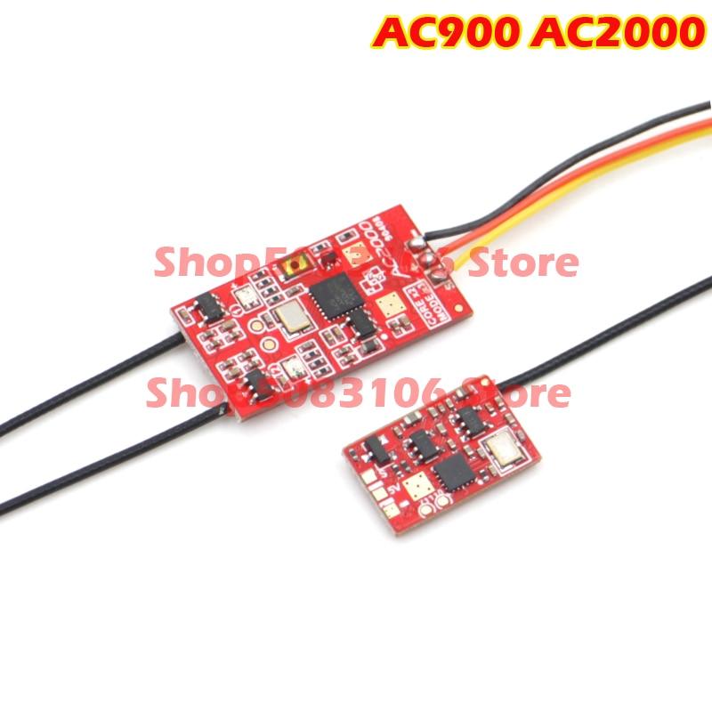 AC2000 AC900 modelo Dual Mini receptor integrado D16 apoya Frsky FUTABA S-FHSS... salida del receptor XM Mini XM + X9D pará
