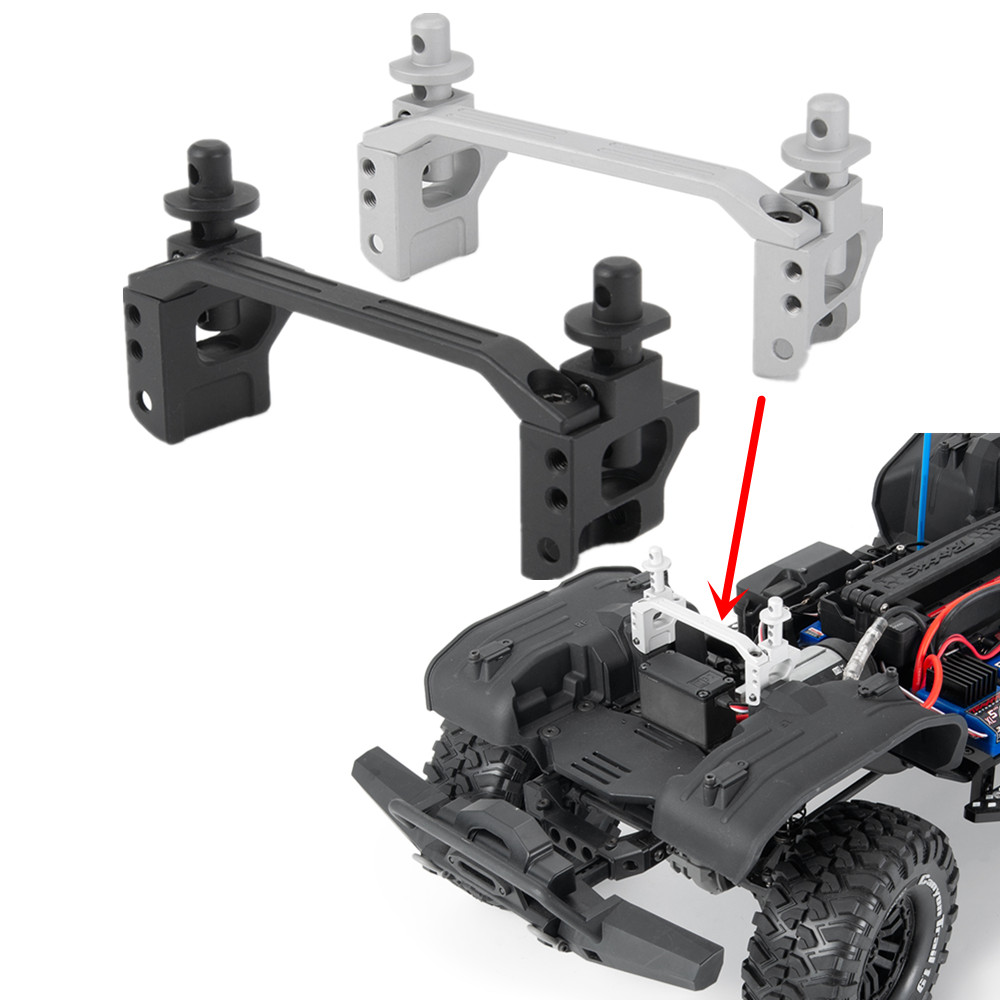 YEAHRUN  Metal RC Car Front Body Post Mounts For Traxxas Trx4 RC Crawler Truck Upgrade Option Parts