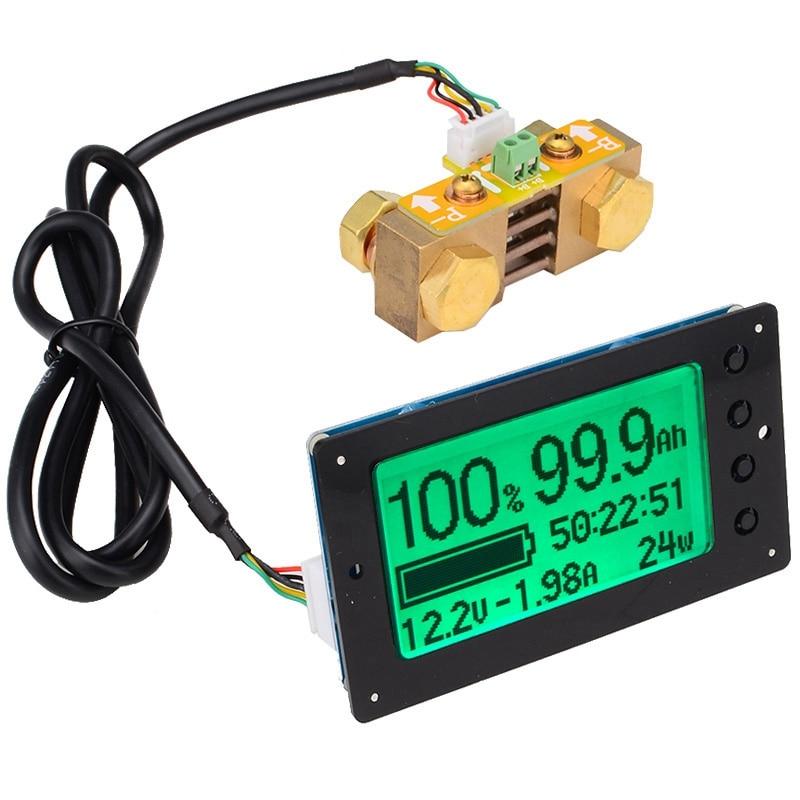100V 350A testeur de capacité de batterie au Lithium au plomb-acide affichage de courant de tension coulomètre compteur Coulomb