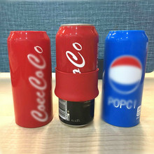 Silicone Soda Cans Sleeve Secret Beer Can Cover Sleeve Hide Beer Drink Can For Outdoor Events Soccer Game Silicone Sleeve Bottle creative soda cans food grade drink dust seal cover six pack reusable bottle sealing cap snap on can convert soda for cool coke