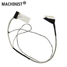 Tela de vídeo flex para acer E5 571 E5 531 E5 511 E5 551 E5 521 E5 572 V3 572 30pin não toque portátil display lcd cabo dc02001y810