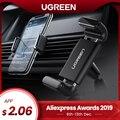 Ugreen Car Phone Holder para tu teléfono móvil soporte para iPhone 11 8 soporte de ventilación de aire soporte de teléfono celular en el soporte de teléfono del coche