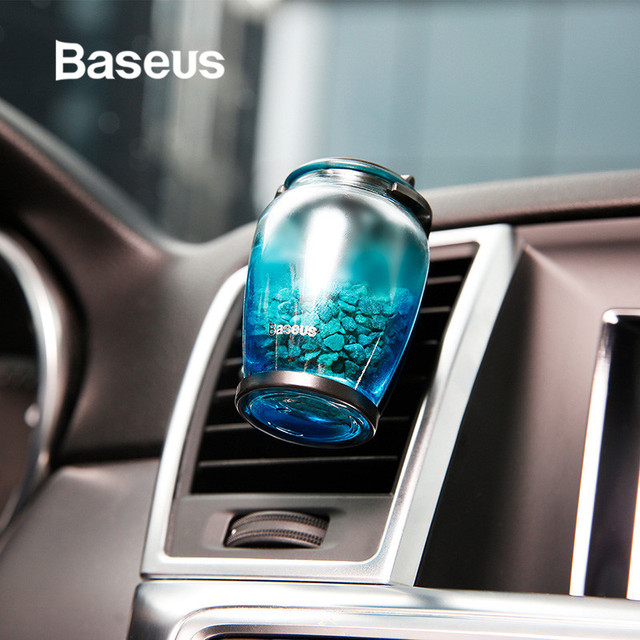 Baseus Aromatherapy Car Air Freshener Perfume for Home Air Vent Outlet Fragrance Clip Auto Aroma Diffuser Purifier Solid Perfume