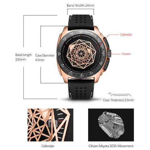 Watches Men Sports Watches Military  Quartz Wrist  Men  Watch Waterproof Clock Male Relogio Masculino Silicone Black Islamabad