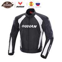 DUHAN Autumn Winter Motorcycle Jacket Men Protective Gear Moto Jacket Windproof Cold proof Touring Motorbike Riding Clothing