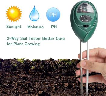 Soil Ph Tester Garden Tools Moisture Sunlight PH Analyze 3 IN 1 Digital Meter For Plants Flowers Farm