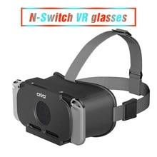 A realidade virtual filmes 3d vr óculos para nintendo switch labo grande lente hd vr fone de ouvido para odyssey n-switch jogos acessórios