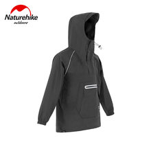 Naturehike-Chaqueta Poncho para lluvia, impermeable ligero, transpirable, impermeable, para senderismo y Camping, 2020