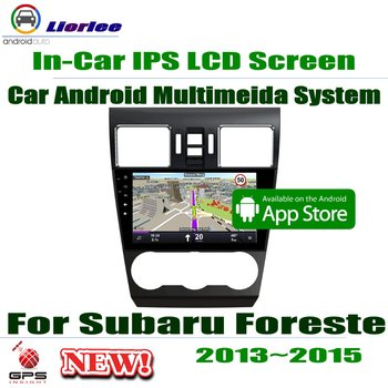 """9"""" HD 1080P IPS LCD Screen Android 8 Core For Subaru Forester 2013~2015 Car Radio BT 3G/4G WIFI AUX USB GPS Navi Multimedia"""