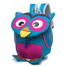 Baby Backpack Kindergarten 2-5 years old Shoulder Bag Kids Boys Girls Cartoon School Bags Owl Children's gifts(China)