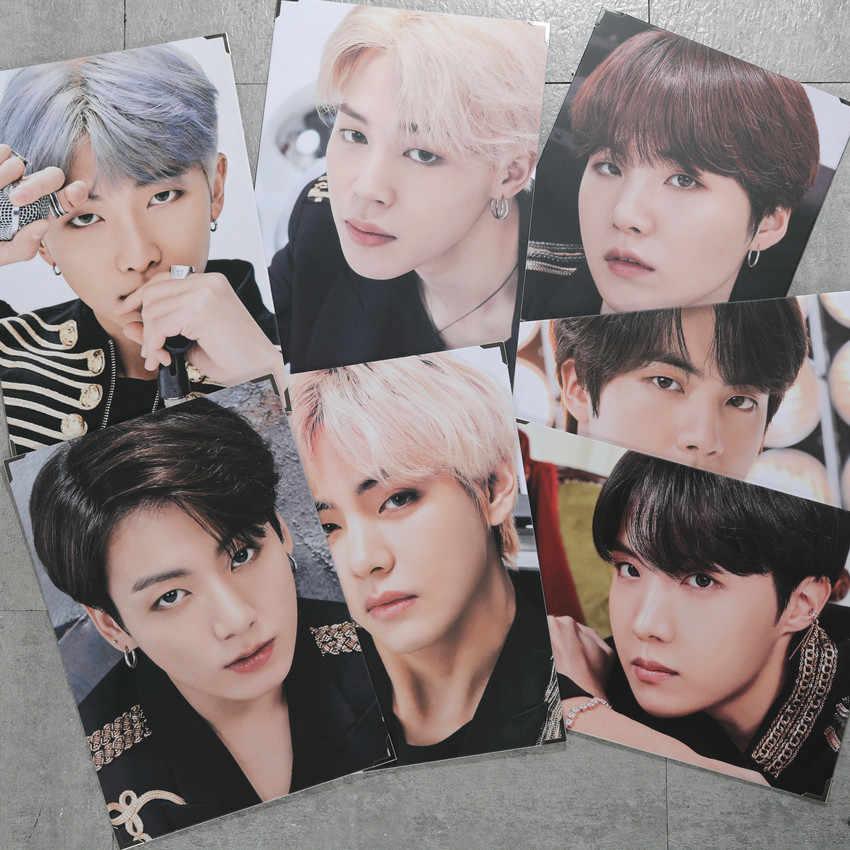 Корейские группы Bangtan мальчики плакат альбом SUGA официальный того же абзаца Япония поле Рамка для фотографии; альбом периферийный JUNG KOOK V RM