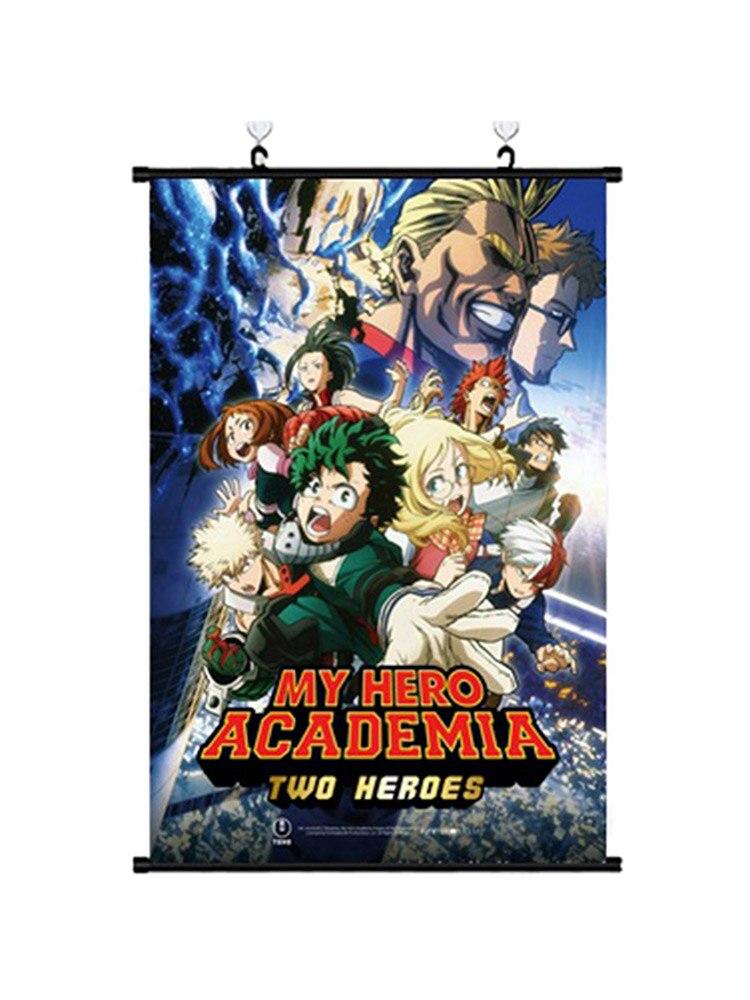 Boku No My Hero Academia Midoriya Bakugou Shoto Dabi Kirishima Anime Manga Wall Poster Scroll 20X30/30X45/40X60CM Painting & Calligraphy    - AliExpress