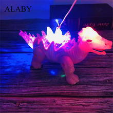Alaby динозавр модель пластик Моделирование Электрический ходьба