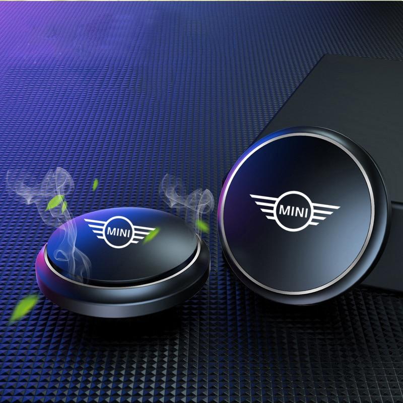 Araba hava spreyi enstrüman koltuk aromaterapi UFO şekli BMW MINI COOPER için R56 R55 R60 R61 Countryman F55 oto aksesuarları