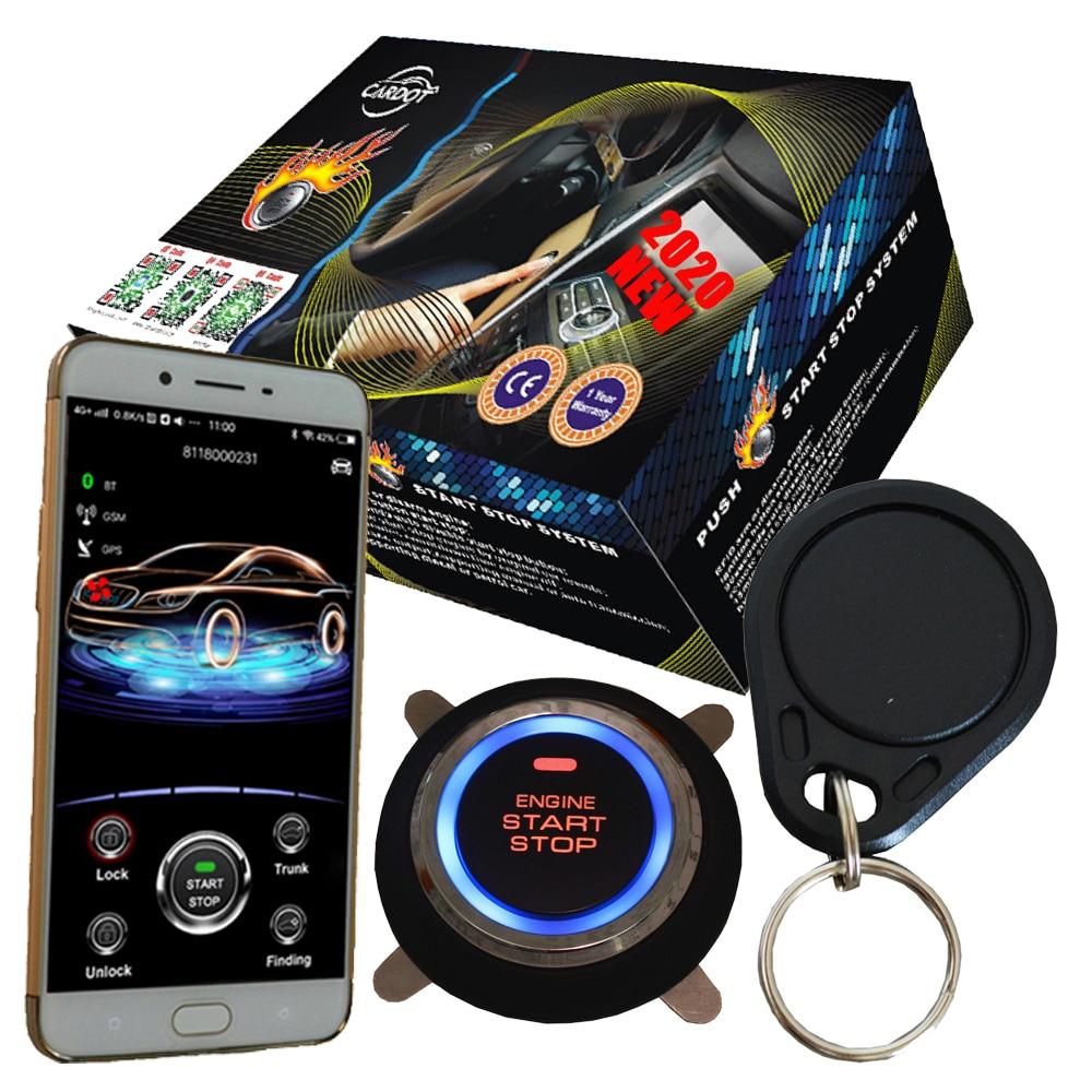 Kit d'arrêt de démarrage du moteur rfid fonctionnant avec le système d'alarme de voiture de rechange