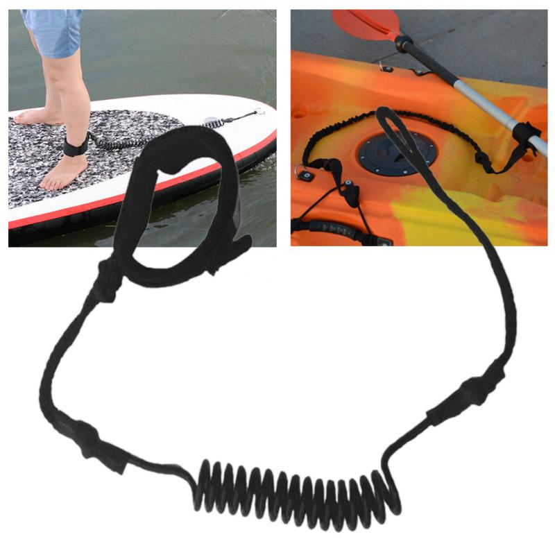 Safety Ankle Strap Leash Traction Surf Rope Stand-up Paddle Board Rope Paddle SG