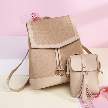 Backpack Preppy Style Women Leather  purse Soft Touch Multi-Function Small Backpack Female Ladies Shoulder Bag Girl Purse carteras mujer bag steampunk thigh motor leg outlaw pack thigh holster protected purse shoulder backpack purse leather women bag
