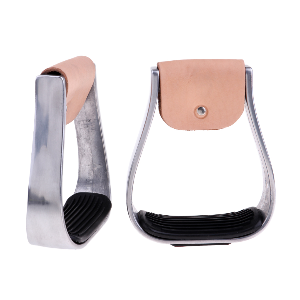 2 Pcs Outdoor Adult Stirrups Equestrian Horse Riding Anti Skid Accessories 6.7 Inch