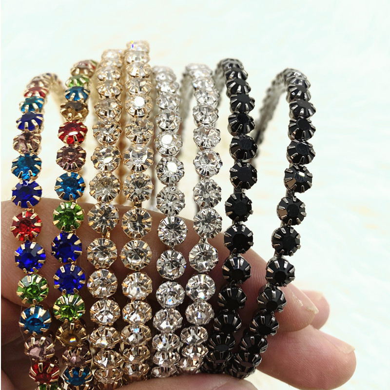 Big black Hoop Earrings For Women Crystal Round Gold Super large Rhinestone Jewelry Fashion Statement Bijoux Simple