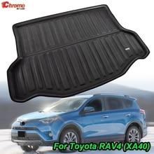Tapis de sol de protection de la boue pour voiture, pour Toyota RAV4 2013, 2014, 2015, 2016, 2017 et 2018, doublure de coffre arrière, accessoires de voiture