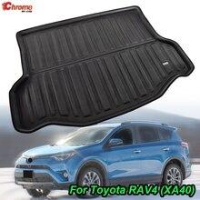 Для Toyota RAV4 2013 2014 2015 2016 2017 2018 коврик для сапог задний багажник лайнер грузовой пол ковер грязевой протектор автомобильные аксессуары